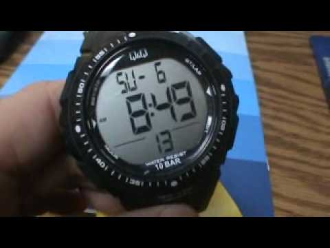 Q q division of citizen watch youtube for Q q watches