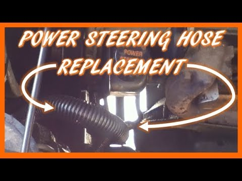 How to Replace Power Steering Pressure Line 9698