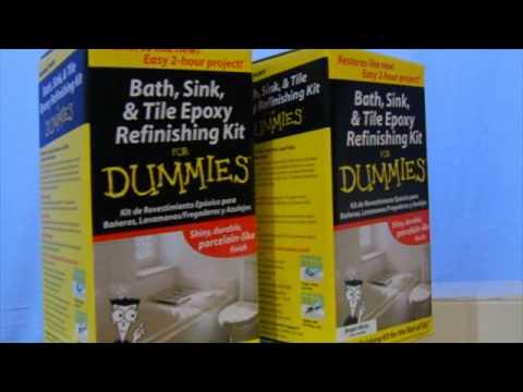 Bath, Sink U0026 Tile Epoxy Finishing Kit For Dummies