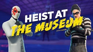Heist At The Museum - Fortnite Escape Map by Puzzler [8634-9889-5913]