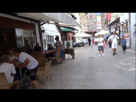 Walk in old city - Sarajevo, Bosnia and Herzegovina