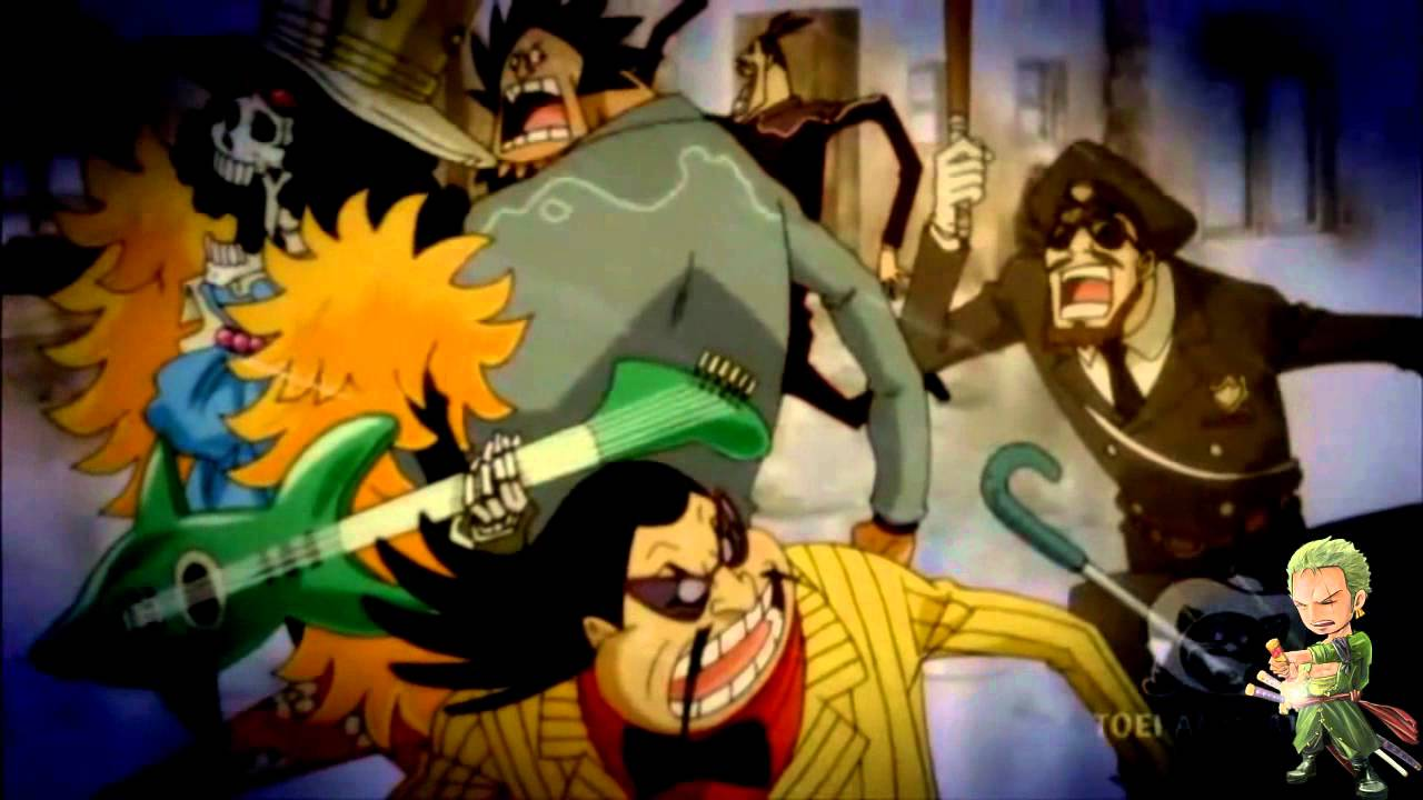 One Piece 520 - Soul King Brook [New World] HD - YouTube