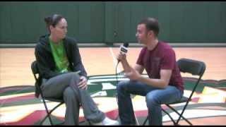 Arik Korman interviews Seattle Storm Superstar Sue Bird