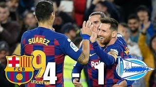Barcelona vs Alaves 4 1 La Liga 2019 10 MATCH REVIEW