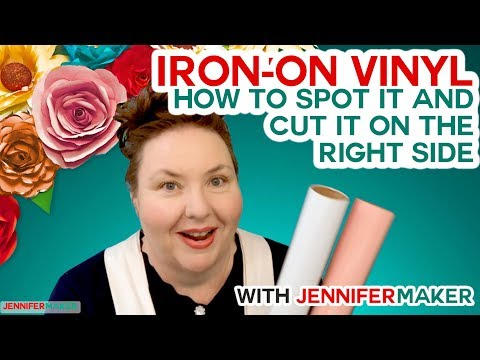 Iron On Vinyl: How to Cut the RIGHT Side to Cut EVERY Time!