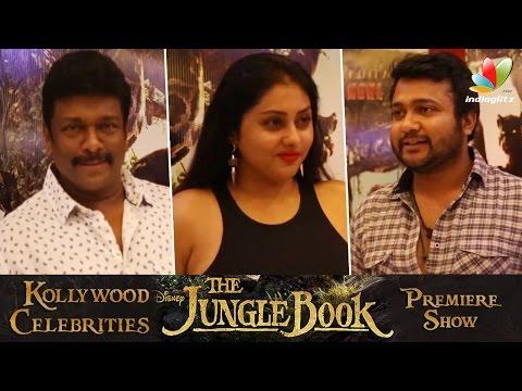 Jungle Book Premiere Show : Namitha, Bobby Simha, Parthiban, Reshmi Menon