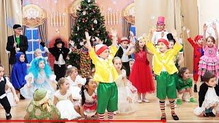🙅👪👭🍬💖💗Новый год 2016 в детском саду. Новогоднее выступление детей.