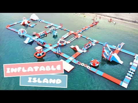 Asia's Biggest Floating Playground: Inflatable Island in Subic, Philippines 💦✨👙