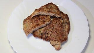 Отбивные из свинины / Pork chops | Видео Рецепт
