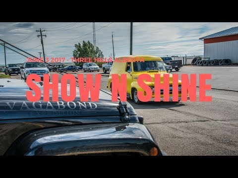 Three Hills Alberta -  Show And Shine Car Show