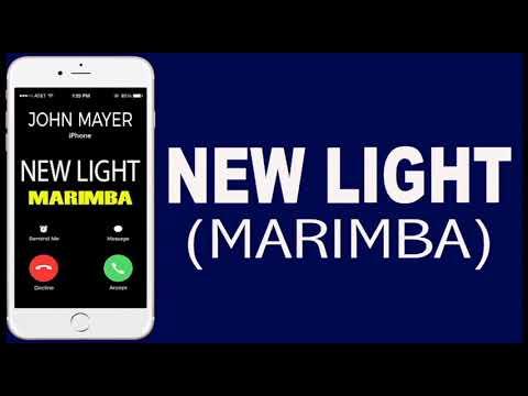 Latest iPhone Ringtone - New Light Marimba Remix Ringtone - John Mayer