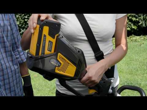 48V Power Pack - the battery powered system for residential gardening   STIGA