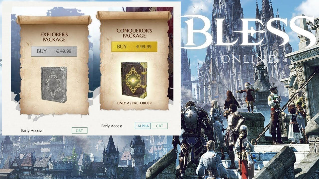 Online Pack Bless Online Founders Pack Info Update Price Discussion