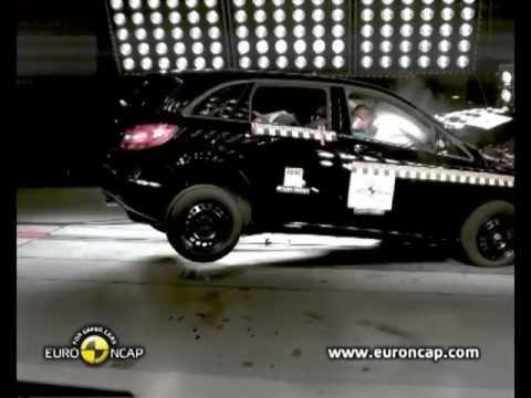 ► 2012 Mercedes B-Class CRASH TEST