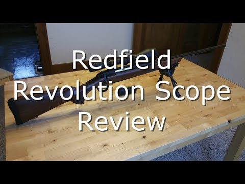 Redfield Revolution Scope - Review