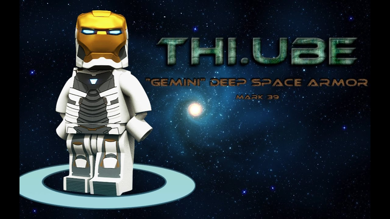 """iron man lego unboxing and review. """"gemini"""" the deep space armor"""
