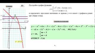 Видео уроки к ГИА ОГЭ   2016 по математике от Шеховцова  В А    УРОК  № 6