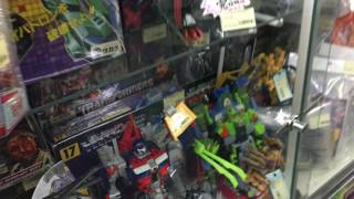 Transformers Shopping in Japan: Jungle store in Akihabara Tokyo Part 2