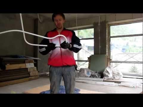 Как гнуть металлопластиковые трубы в домашних условиях видео