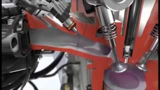 Bosch Compressed Natural Gas Powertrain Animation