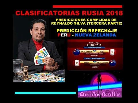 Predicciones cumplidas de Reynaldo Silva Tercera parte y Repechaje PerúNueva Zelanda