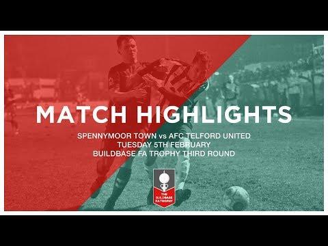 HIGHLIGHTS | Spennymoor Town 1-2 AFC Telford United | FA Trophy