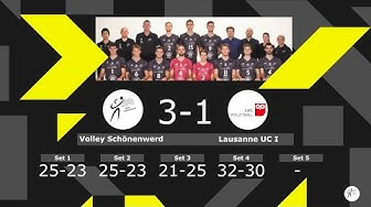 Volley Schönenwerd vs. Lausanne UC I