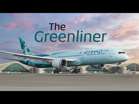 The Greenliner: Livery Painting Timelapse | Etihad Airways