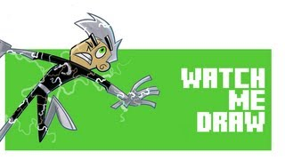 Watch Me Draw The Ghostbusters vs Danny Phantom