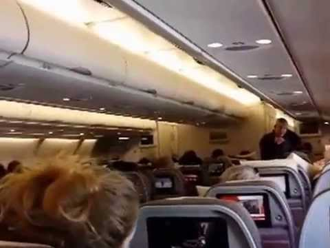 Landing in Caracas Venezuela, Iberia Airline Take off from Madrid-Barajas Oktober 2014