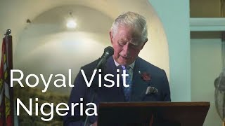 Royal Visit Nigeria: The Prince of Wales gives a speech in Lagos