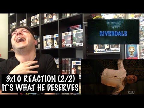 Download RIVERDALE - 3x10 'THE STRANGER' REACTION (2/2)
