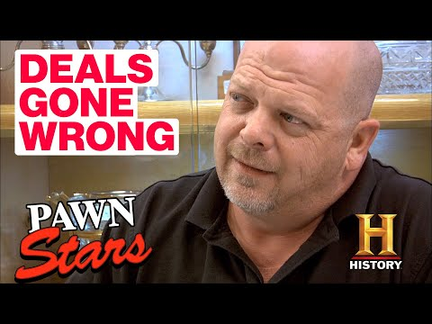 Pawn Stars: Deals Gone Wrong (5 Angry and Disappointed Sellers) | History