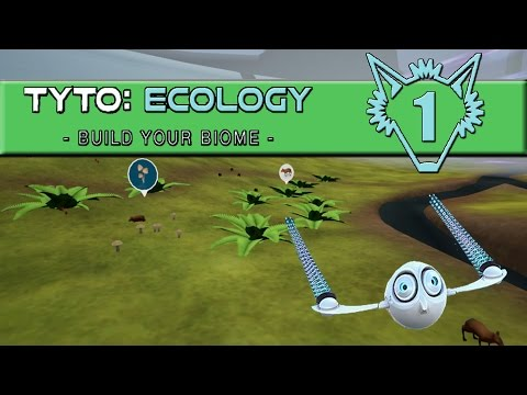 Tyto Ecology | Cute Informative Ecology Simulator Rainforest Tutorial | Part 1 | Gameplay Let's Play