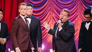 Neil Patrick Harris 'Split His Pants' During 'Broadway Riff Off' with James Corden