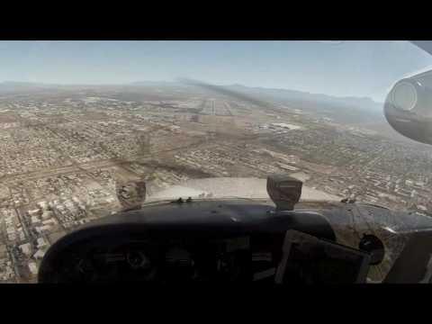 Pilot's View: Landing at Tucson International Airport