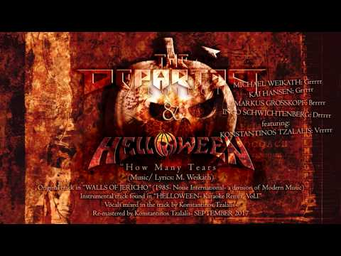 How Many Tears- HELLOWEEN & THE DEPARTED PROJECT (Vocal Cover)