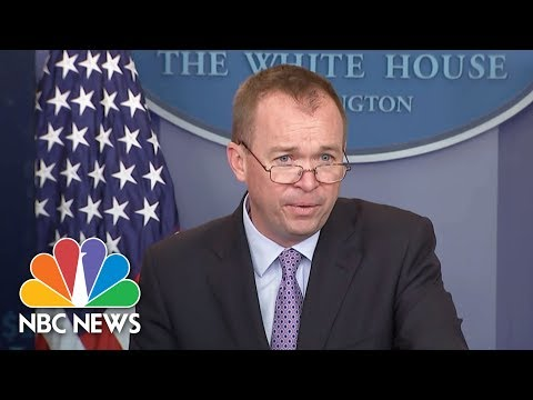 Mick Mulvaney On President Donald Trump