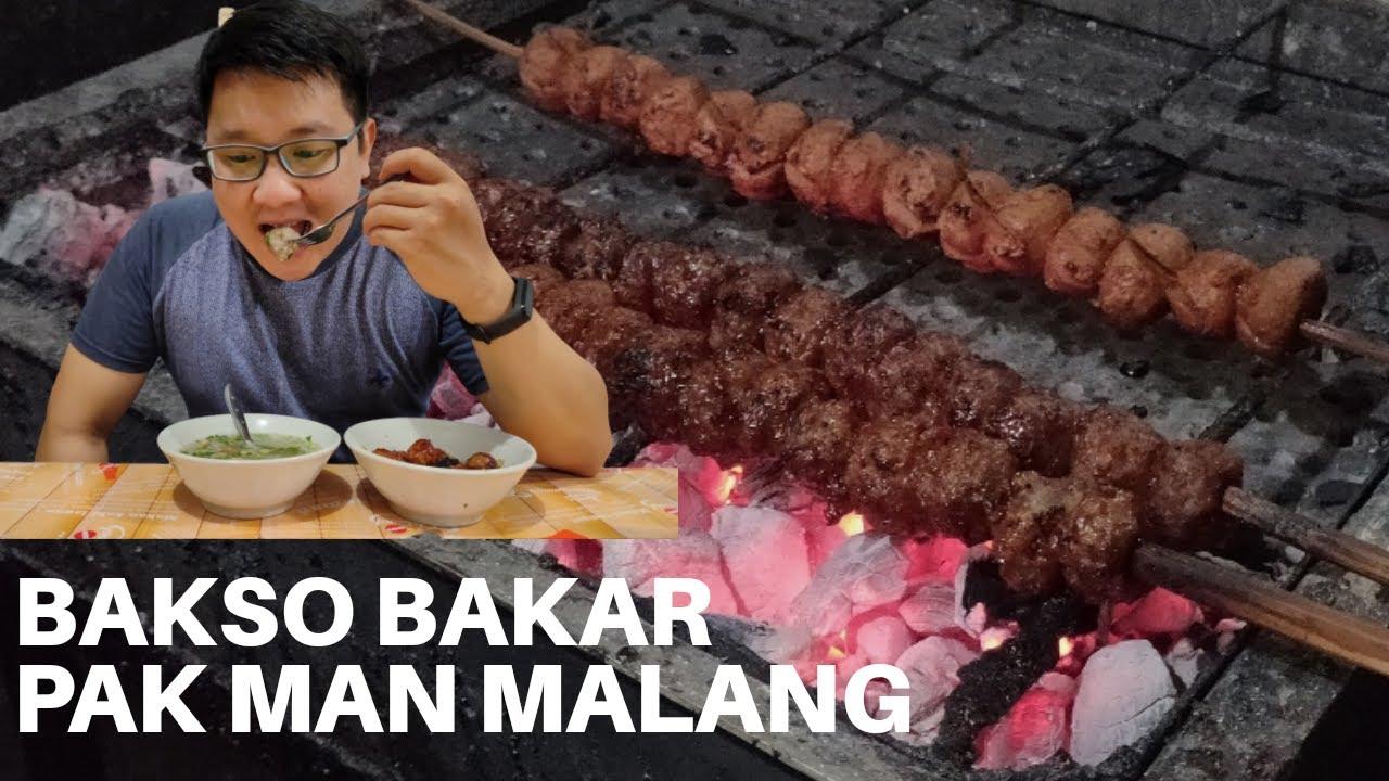 Bakso Bakar Pak Man Bakso Bakar Terendess Di Kota Malang 1 Youtube