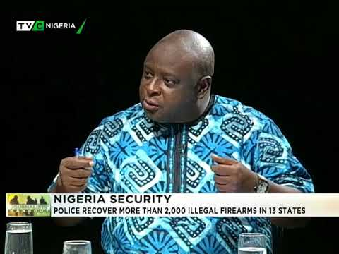 Journalists' Hangout 11th April 2018 | Police recover 2,000 illegal firearms in 13 states
