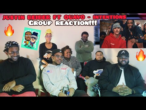 Justin Bieber - Intentions ft. Quavo (Official Video) *Group Reaction*Fire??orr