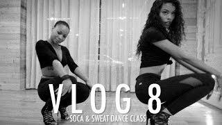 Sharam Diniz VLOG #8 SOCA & SWEAT DANCE