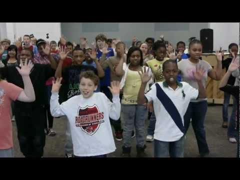 Red Bridge Elementary School in Kansas City  dances for Ellen.mov