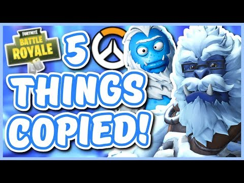 Overwatch - 5 NEW THINGS FORTNITE COPIED FROM OVERWATCH thumbnail