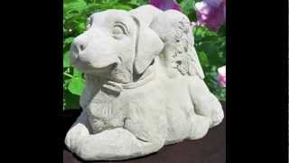 Labrador Garden Statues Shipped Worldwide Safely!