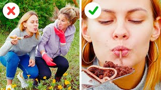 FAKE FOOD VS REAL FOOD CHALLENGE! || 30 Pranks and Secrets of Fake Food making