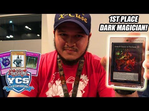 *YUGIOH* 1ST PLACE PRIZE CARD WINNING: DARK MAGICIAN DECK PROFILE! FEBRUARY 2018 BANLIST! (YCS 2018)