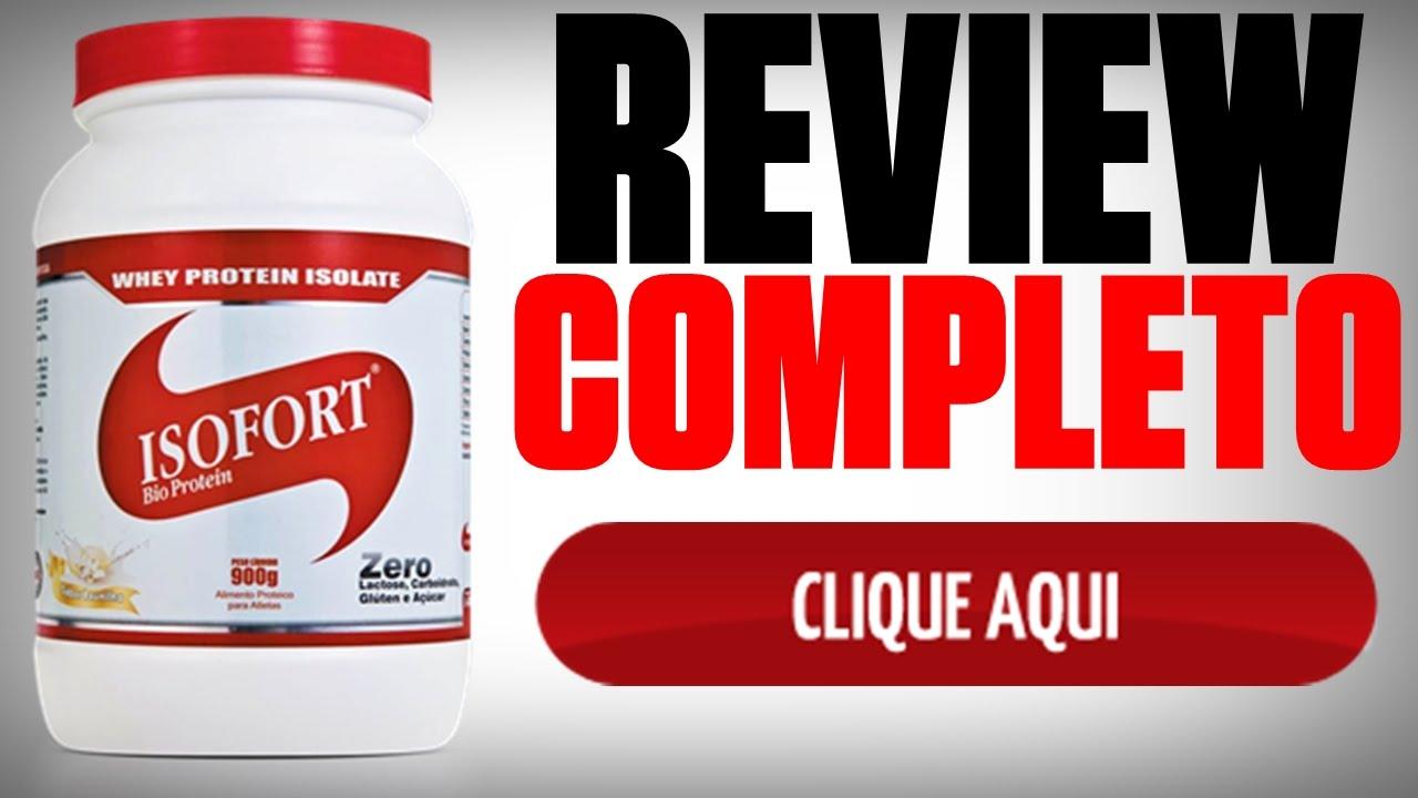 420927d7f Resenha  Isofort Whey Protein Isolate Vitafor - YouTube