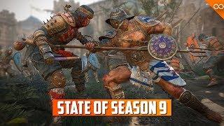 State of For Honor Season 9 - Revenge Bug - Shinobi - Bash Spam - Gear Stats thumbnail