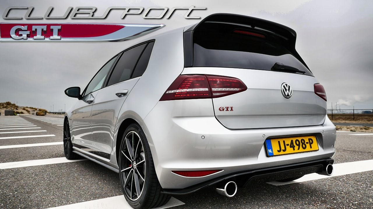 vw golf 7 gti clubsport exhaust sound by autotopnl youtube. Black Bedroom Furniture Sets. Home Design Ideas